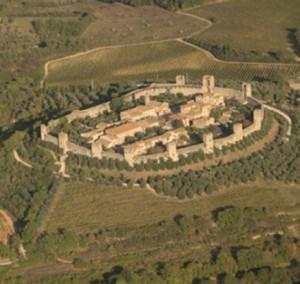Via Francigena: Monteriggioni e la Montagnola senese