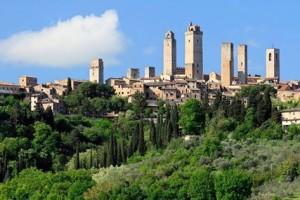E-Bike & Vernaccia di San Gimignano